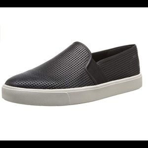 Vince Blair 5 Perforated Leather Slip On Loafers